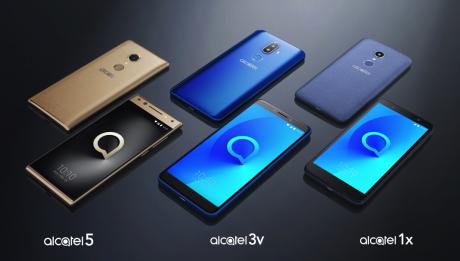 Alcatel Android Phones ces2018