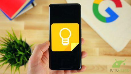 Google Keep si rinnova col nuovo Material Theme