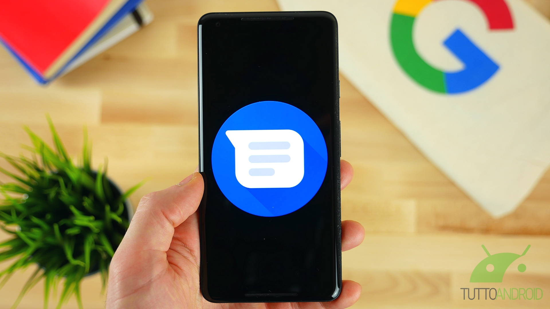 Google Messaggi accoglie gli SMS verificati e la rilevazione