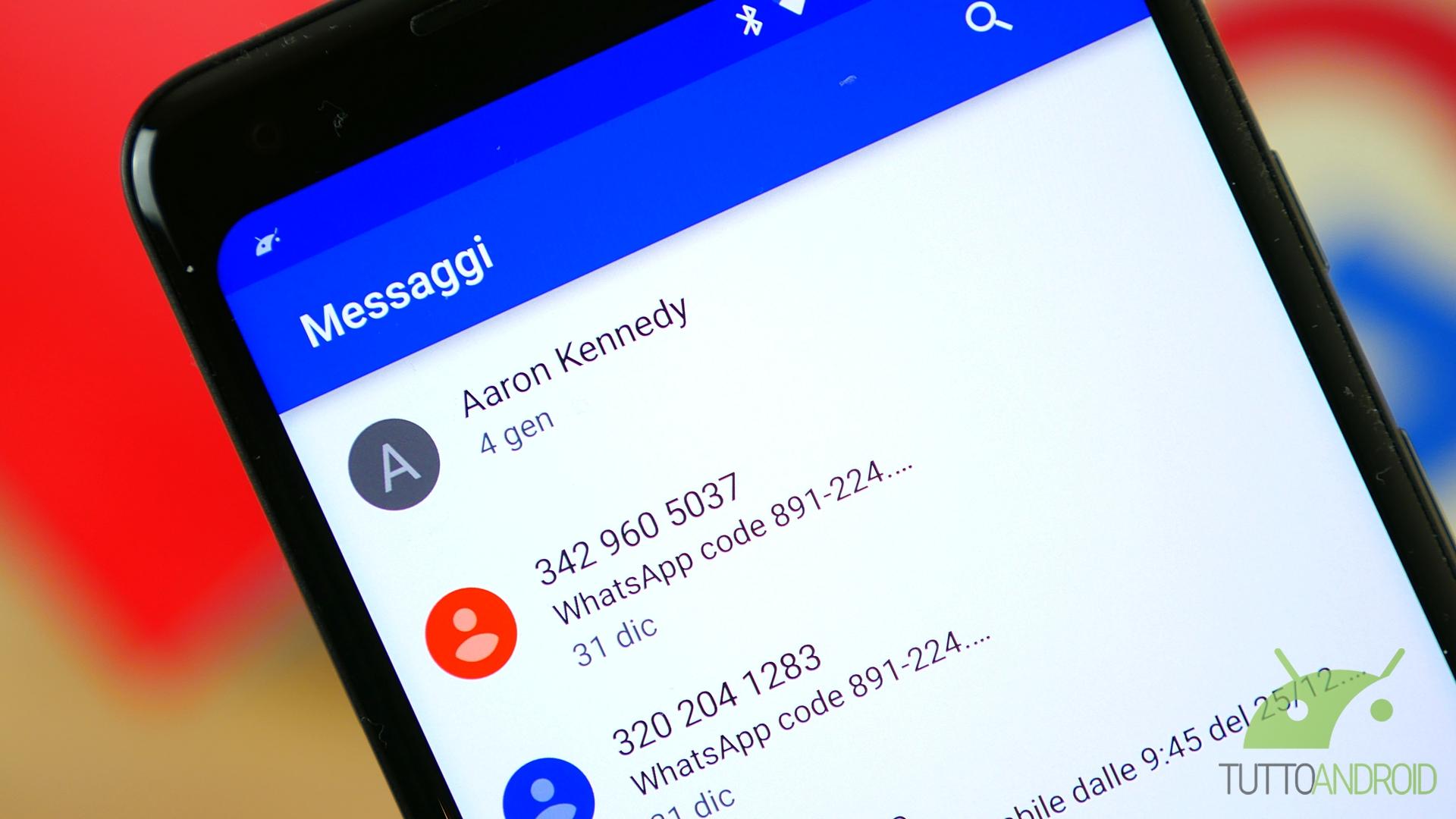 Google sempre carica: pronte nuove funzioni per Gmail e Messaggi
