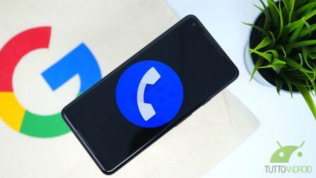 Ecco Google Telefono 26, con il tanto atteso tema scuro (dow