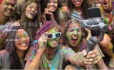 DJI Osmo Mobile 2 CES 2018 3