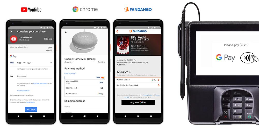 Nasce oggi Google Pay, il nuovo brand di Google per i pagamenti elettronici