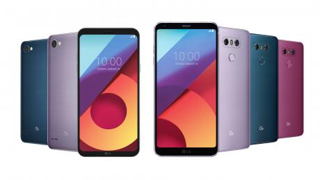 LG G6 e LG Q6 Lavender Violet disponibili in Corea del Sud d
