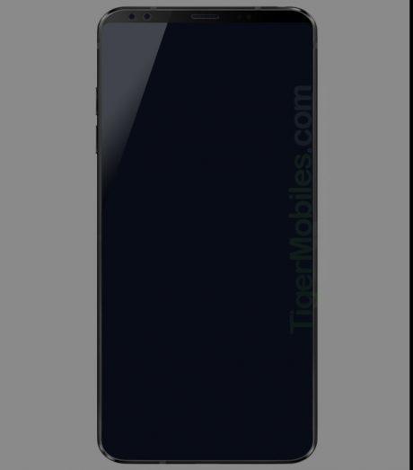 LG G7 render leak