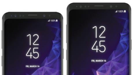 Samsung Galaxy S9 e S9 Plus sono i protagonisti di ipotetici