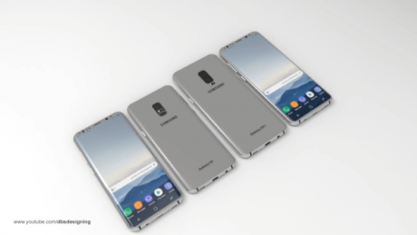 Samsung Galaxy S9 DBS Designing 1