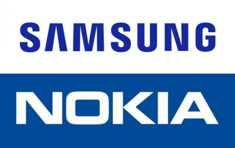 Samsung Nokia logo