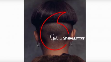 Ghali shake remix vodafone