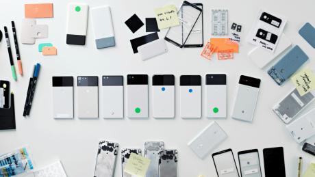 Uno di questi prototipi sarebbe potuto diventare il nuovo Google Pixel 2