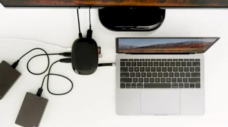 L'hub 8 in 1 HyperDrive USB C dotato di ricarica Wireless conquista Kickstarter