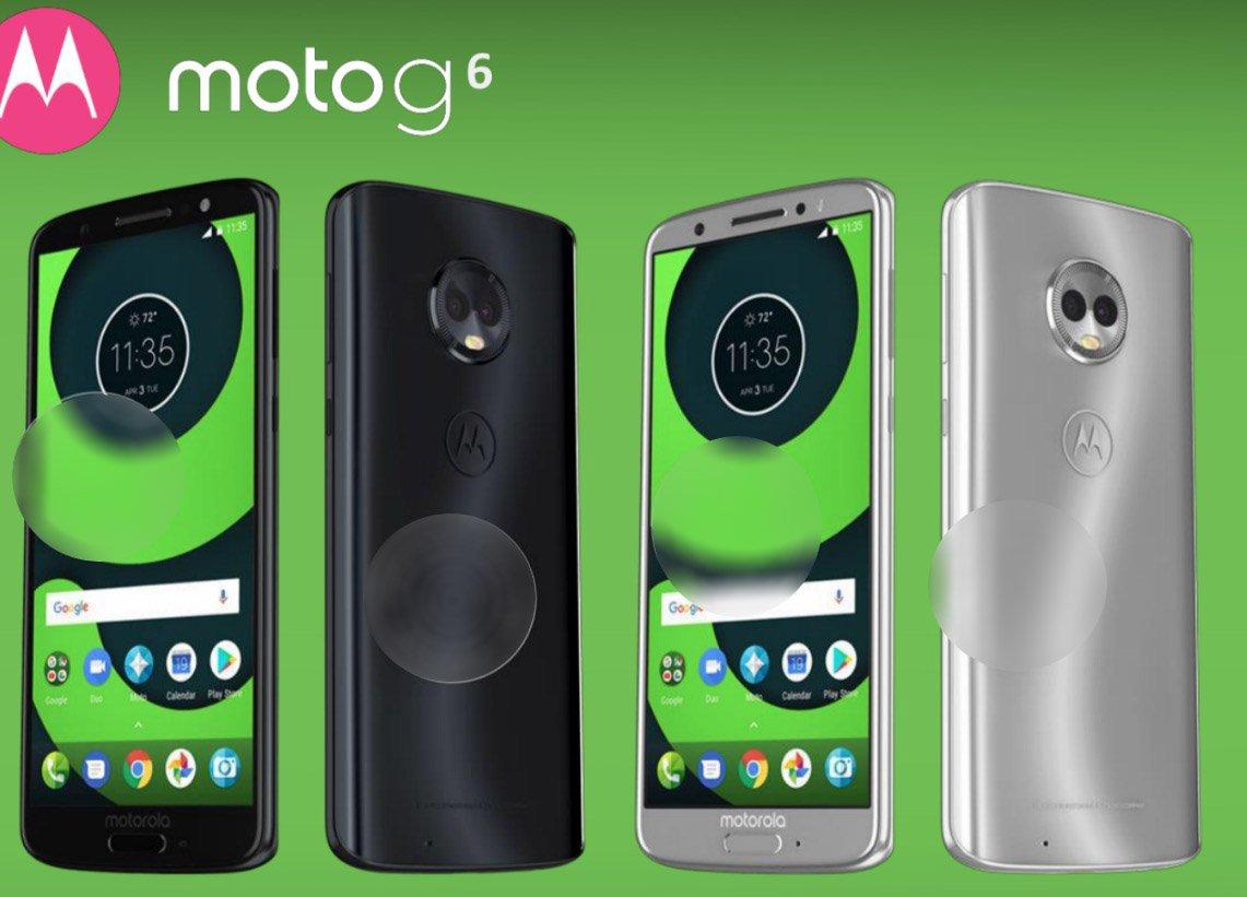 Moto G6, G6 Plus e G6 Play, nuovi dettagli