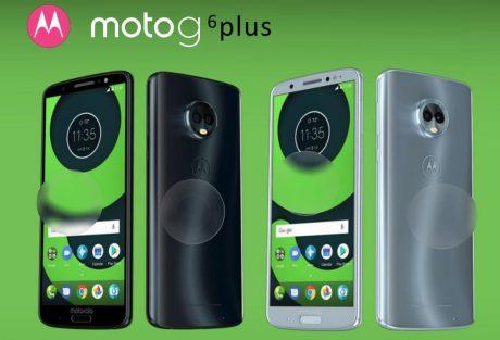 Motorola Moto G6, Moto G6 Plus e Moto G6 Play in nuove immagini