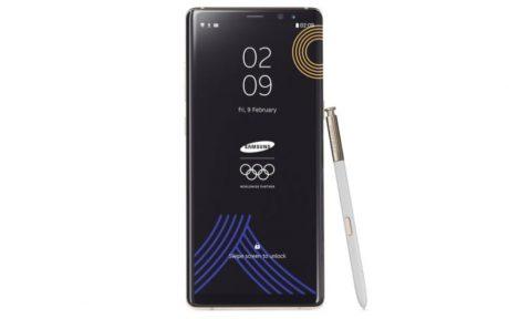 Samsung galaxy note 8 PyeongChang 2018 Olympic Games Limited Edition 1