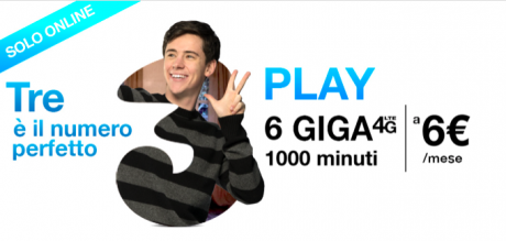 Tre play digital 6