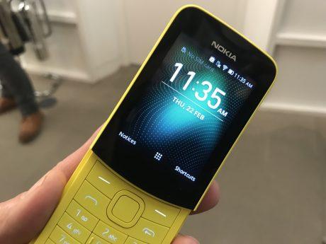 Nokia 8110 ufficiale al MWC 2018: il ritorno dopo 20 anni con 4G, a 89 Euro