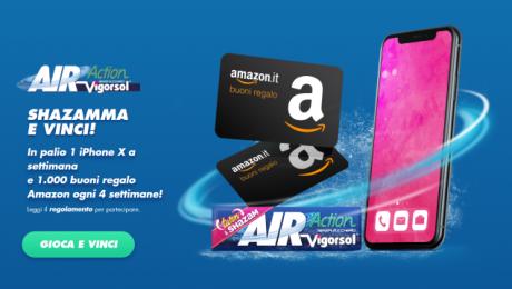Air Action Vigorsol Shazam concorso
