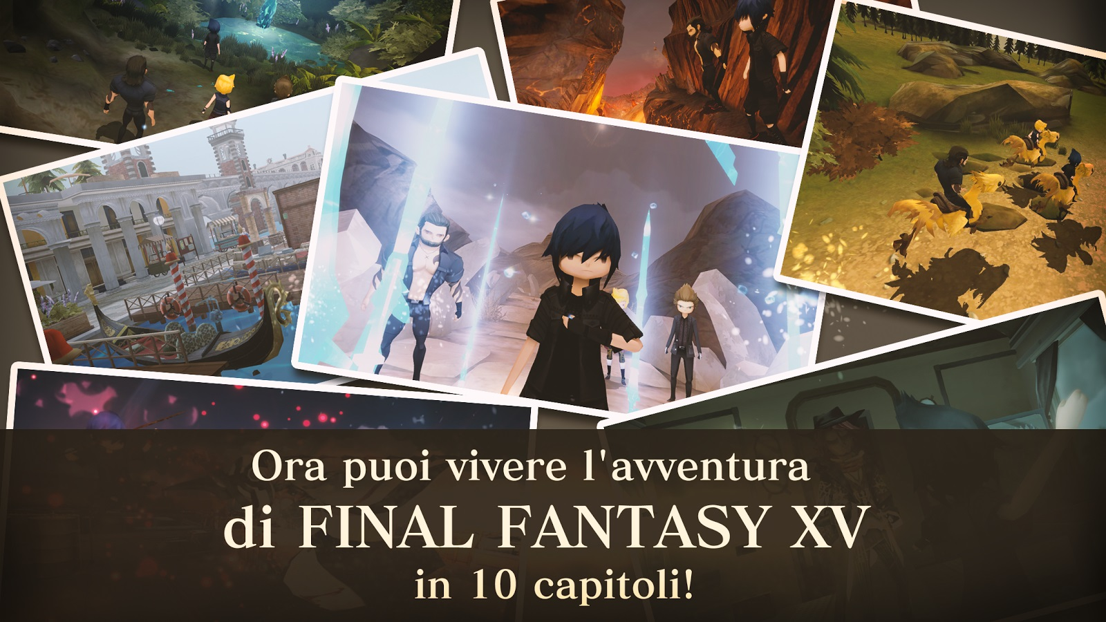 Final Fantasy XV Pocket Edition è disponibile!