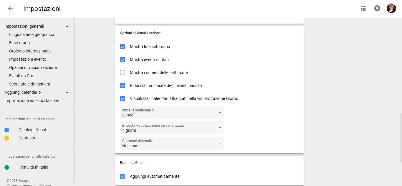Settimane Calendario.La Versione Desktop Di Google Calendar Ora Mostra I Numeri