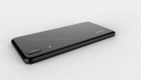 Huawei P20 render 3