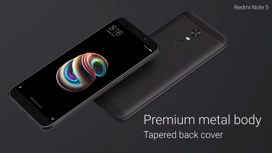 Xiaomi Redmi Note 5 e Note 5 Pro, foto e specifiche complete