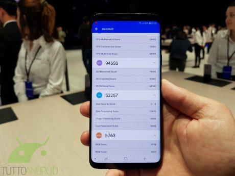 Samsung Galaxy S9 AnTuTu2