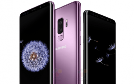 Samsung Galaxy S9 marked wf 1