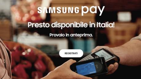 Samsung Pay anteprima