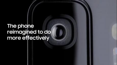 Il video di presentazione di Samsung Galaxy S9 al MWC 2018 è