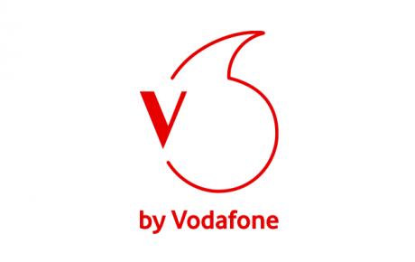 V by Vodafone logo