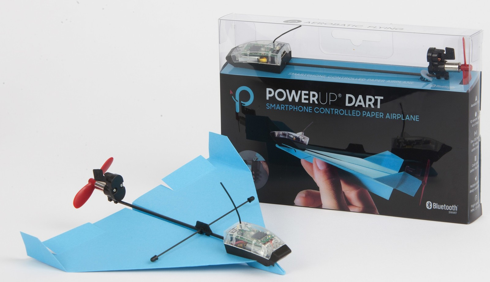Power Up Dart, al via le spedizioni dell'aeroplano di carta controllato da smartphone