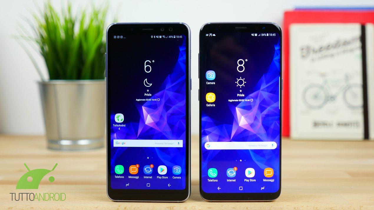 Samsung Galaxy S9 - a confronto le quattro colorazioni disponibili al lancio