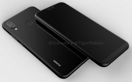 Huawei p20 lite 360 rendering leak 1