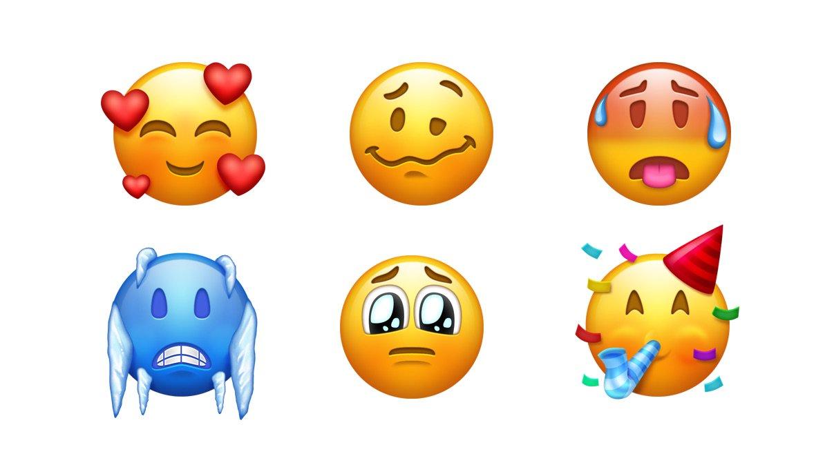 Le 157 emoji che vedremo quest'anno
