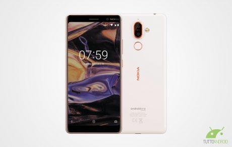 Nokia 7 p2 bianco
