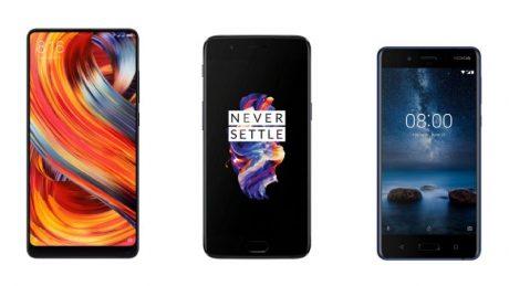 Nokia xiaomi oneplus