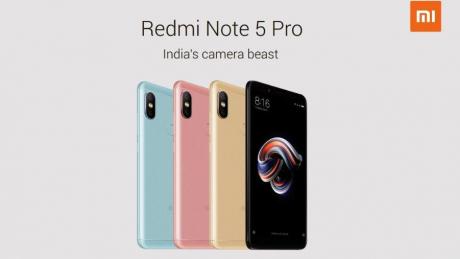 Redmi note 5 pro leak
