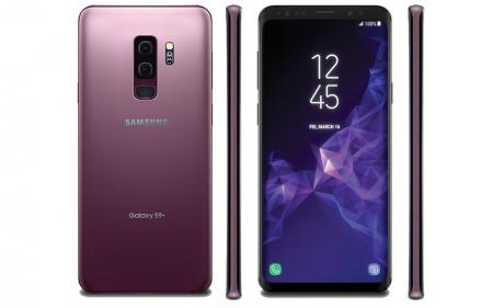 Samsung galaxy s9 plus lilac purple