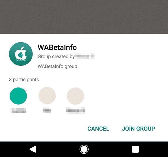 L'ultima beta di WhatsApp porta con sé la descrizione dei gruppi