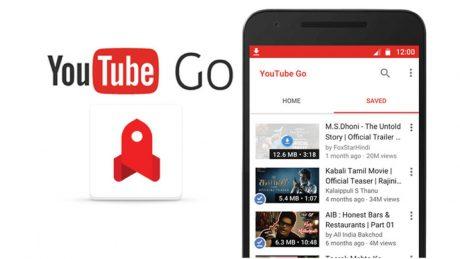 Youtube go logo