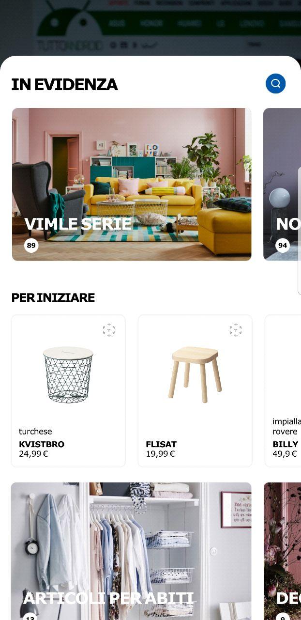 Ikea Place Arriva Sul Play Store Ecco Cosè E Quali Sono I