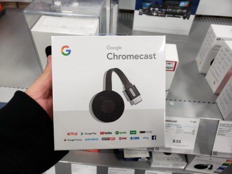 Google Chromecast nuova confezione