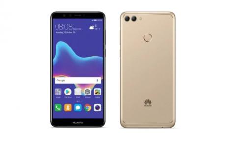 Huawei Y9 2018 render 1