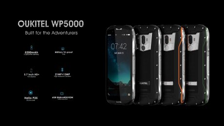OUKITEL WP5000 rugged smartphone