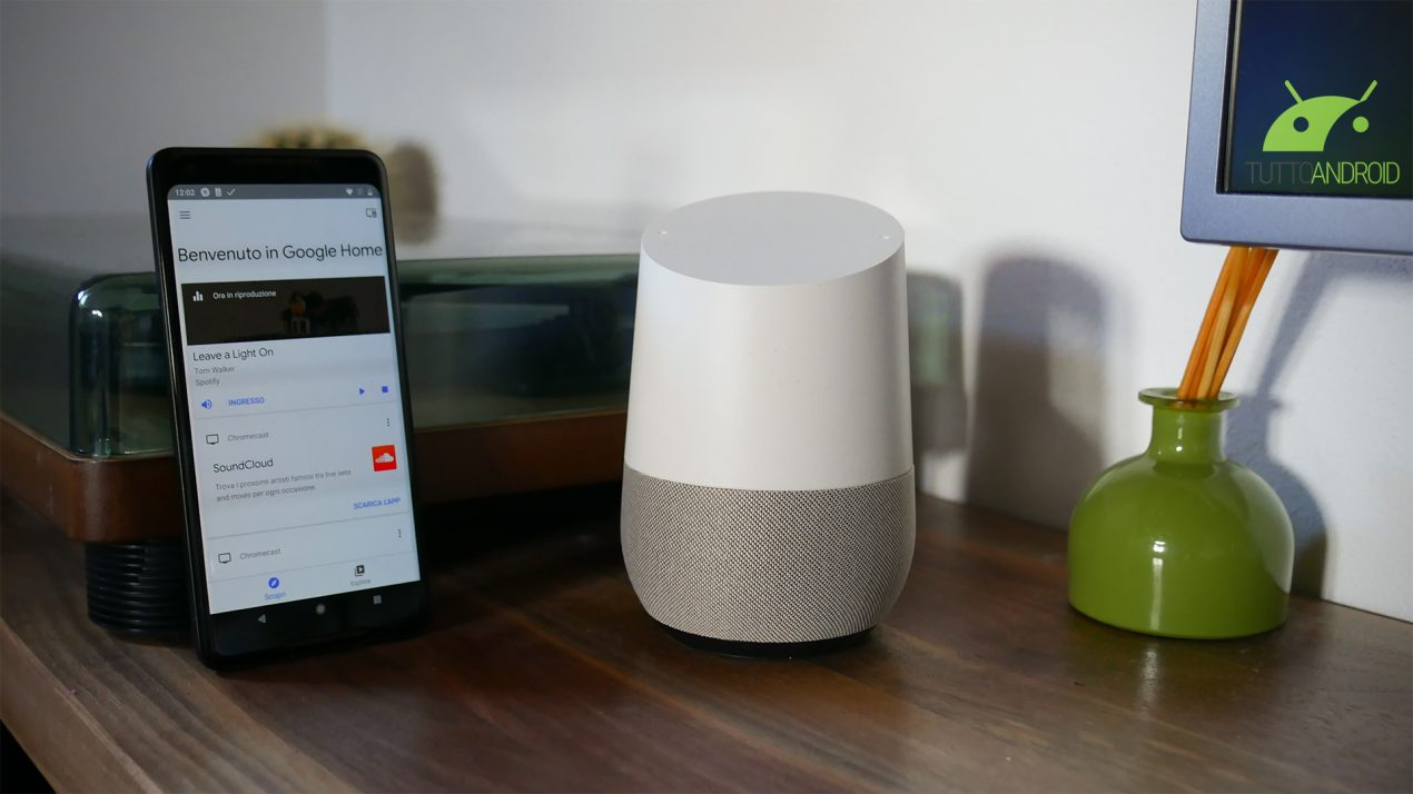 Google Home e Home Mini da oggi supportano la lingua italiana