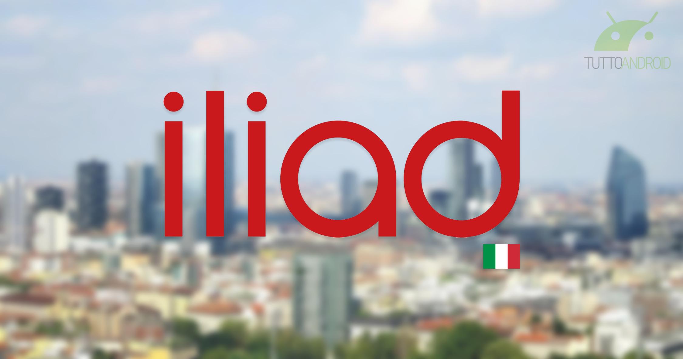 Iliad vuole rivoluzionare il mercato italiano, con offerte super a partire da 2,90 euro