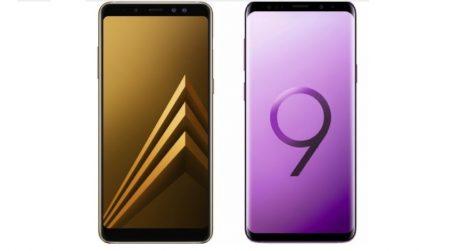 Samsung galaxy s9 galaxy a8