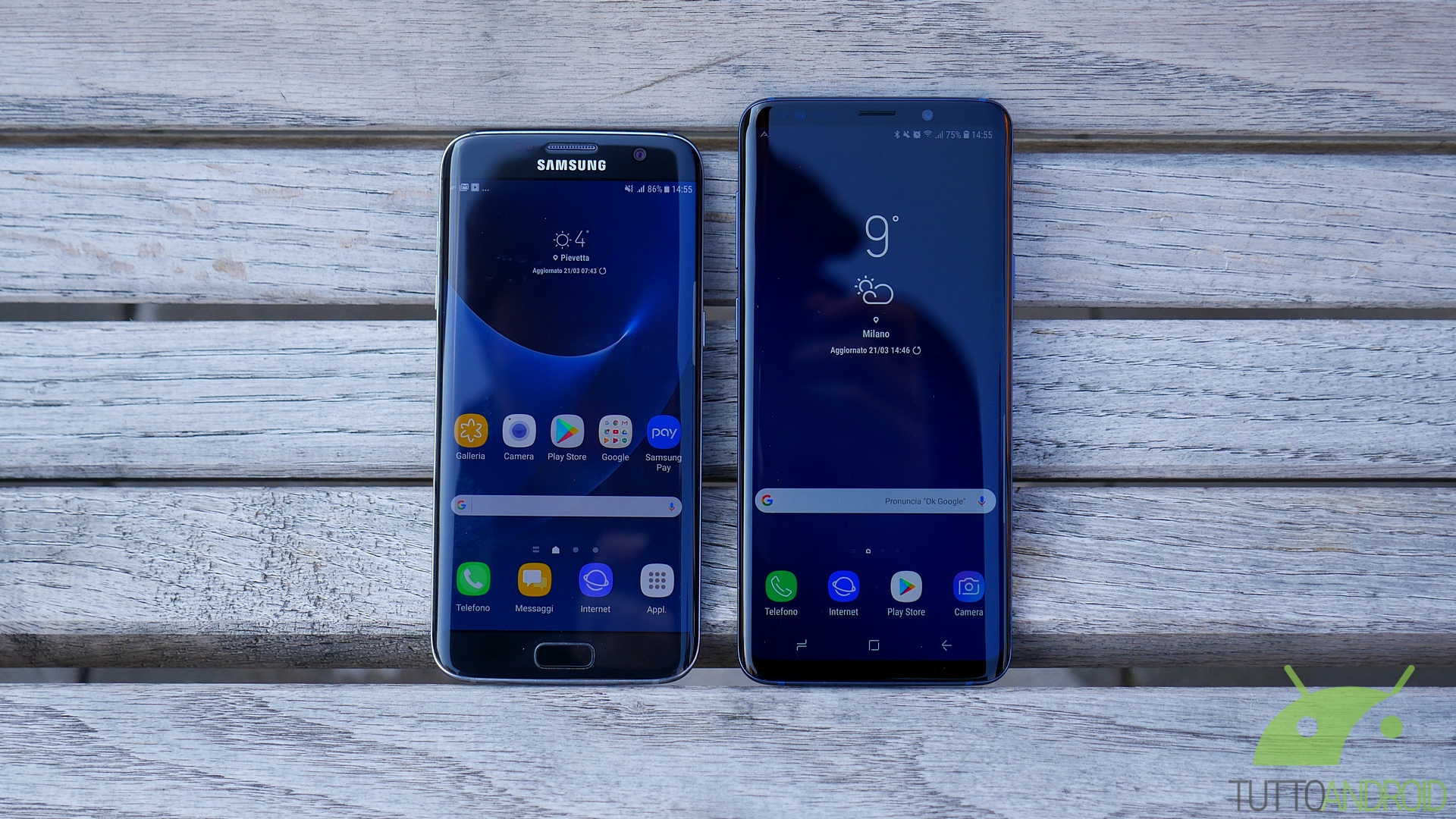 Samsung S9 Plus Es Edge