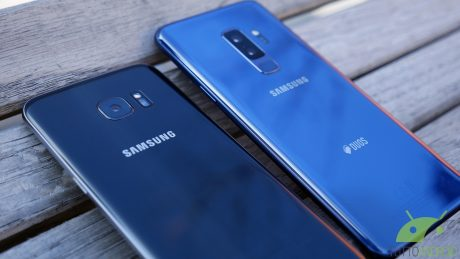 Samsung galaxy s9 Plus vs s7 edge 3