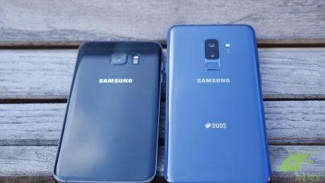 Samsung galaxy s9 Plus vs s7 edge 4